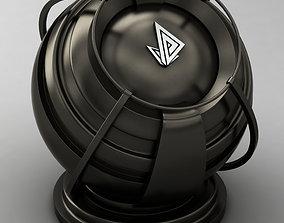 3D model VRAY SHADER---METAL---Promethium