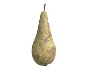 A Pear 3D model