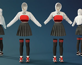 character 3D Female Outfit