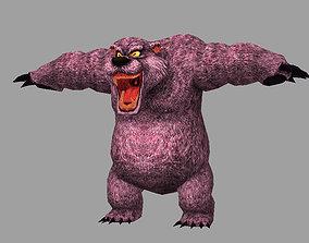 3D asset model bear