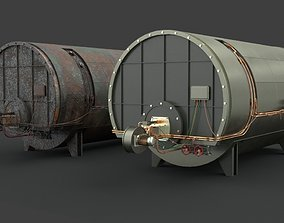 Machinery device 3D asset game-ready