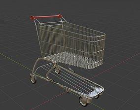 Shopping Cart 3D model shop