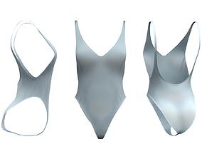 3D model 1 Piece Dance Wear