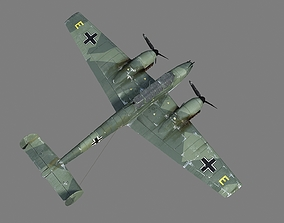 3D model ME110 BF110 ME-110 BF-110 Heavy Fighter