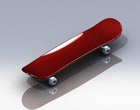sport Skateboard 3D model