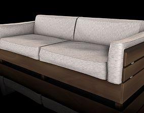 3D asset Sofa Estofado