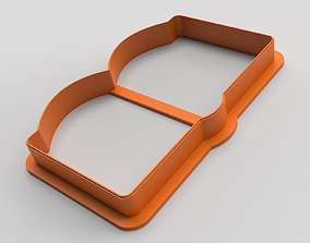 3D printable model Cookie cutter - Book