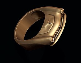 car ring 25 3D print model