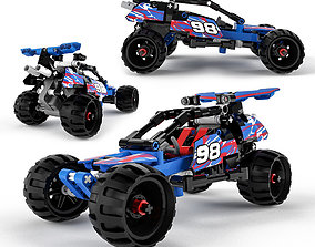 3D model Lego Technic Off-road Racer
