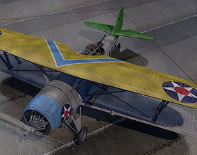 3D model Vought SBU-1 Corsair