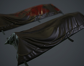 Body Bag PBR Game Ready 3D asset