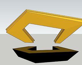 information desk 3D printable model