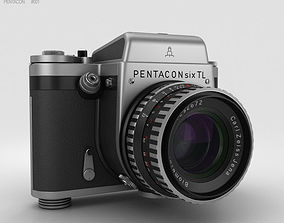 3D model Pentacon Six TL