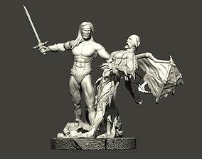 3D printable model Barbarian