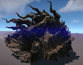 3D model Ancient Tree V9