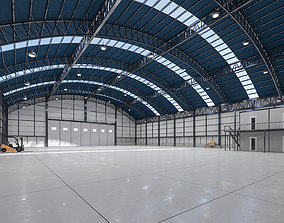 3D model Warehouse - Hangar