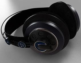 headphones akg k240 mk2 3D