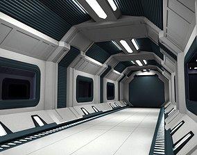 SciFi Corridor D 3D