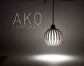 AKO Lampshade 3D printable model