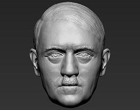 Adolf Hitler head 3D printing ready stl obj formats