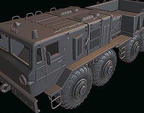 hobby MAZ 537 truck 3D printable model