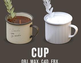 3D asset Travel mug