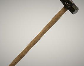 3D asset realtime Sledge Hammer