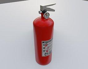 3D model Fire Extinguisher - Extintor de incendio