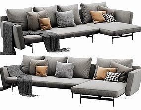 BB Italia SAKE Chaise Lounge 3D model