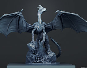 3D printable model Young White Dragon