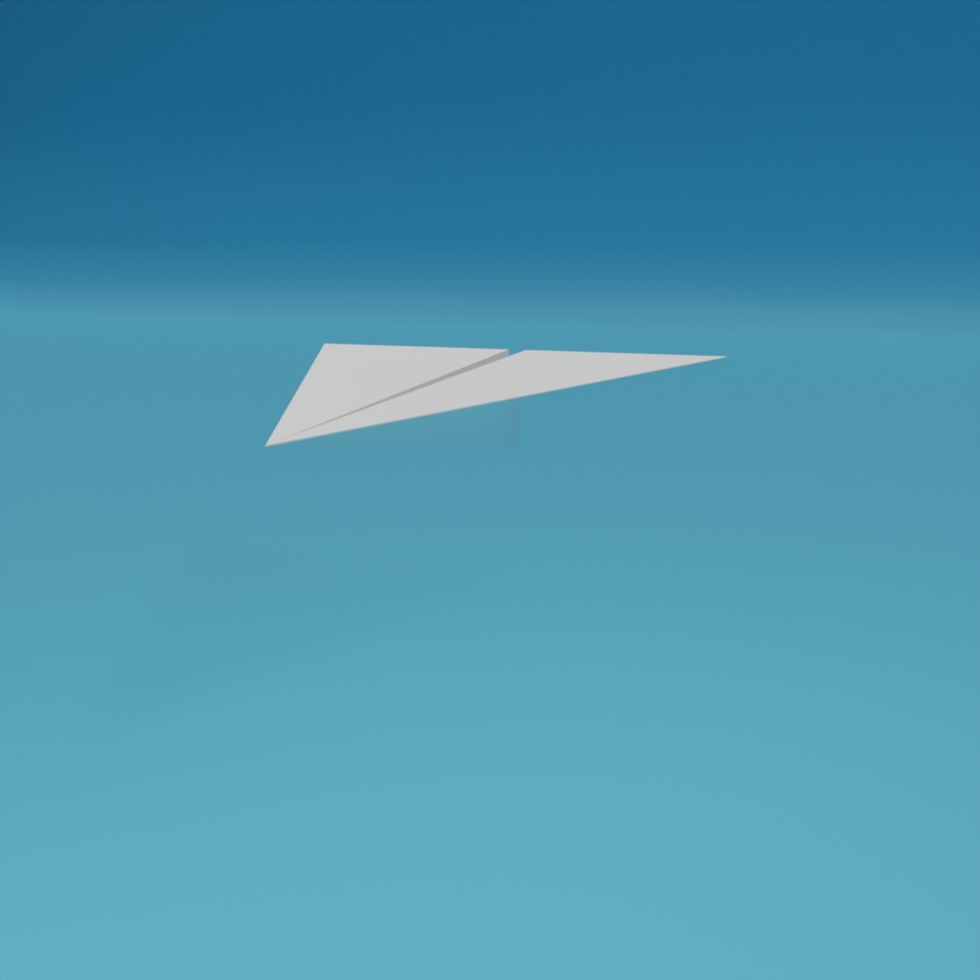 Low Poly Paper Airplanes