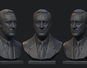 3D printable model Franklin Delano Roosevelt