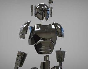 3D print model Full Heavy infantry mandalorian armor