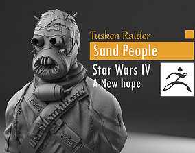 Tusken Raider - Sand People - Star Wars 3D print model 4