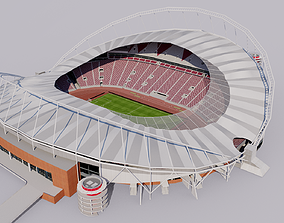 Khalifa International Stadium - Doha Qatar 3D model