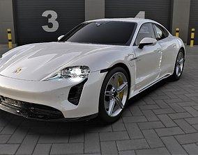 Porsche Taycan EV 3D model