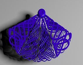 3D printable model Knight Knot Pendant
