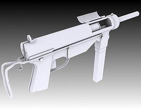 weapon 3D M3 Grease Gun