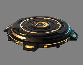 3D model Mechanical turntable