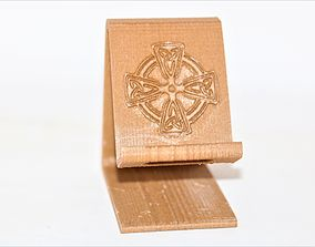 Celtic cross phone stand 3D print model