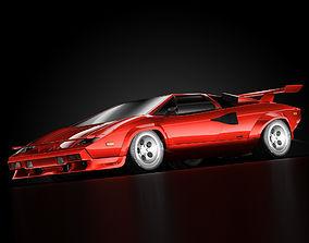 Lamborghini Countach 5000 QV 3D