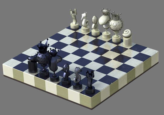 FNC Chess Set