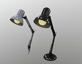 3D asset realtime Desk Lamp
