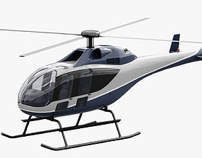 3D model Generic Helicopter