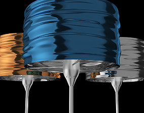 Aqua Cil Terra Floor Lamp - Artemide 3D