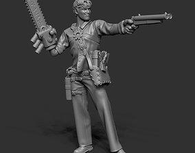 3D printable model Ashton Campbell