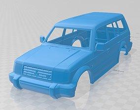 Mitsubishi Pajero Montero Wagon 1991 Printable Body Car