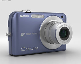 Casio Exilim EX- Z1050 Blue 3D model