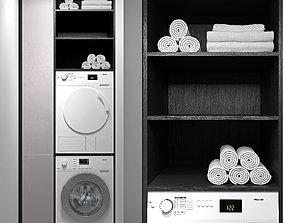 Miele washing machines 3D