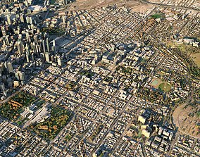 game-ready Melbourne 3D Model Scan